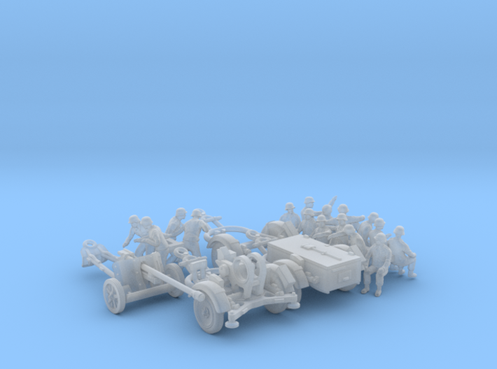 Trailers & Crew : Add-on (2 pack) - 1:87 - HO 3d printed