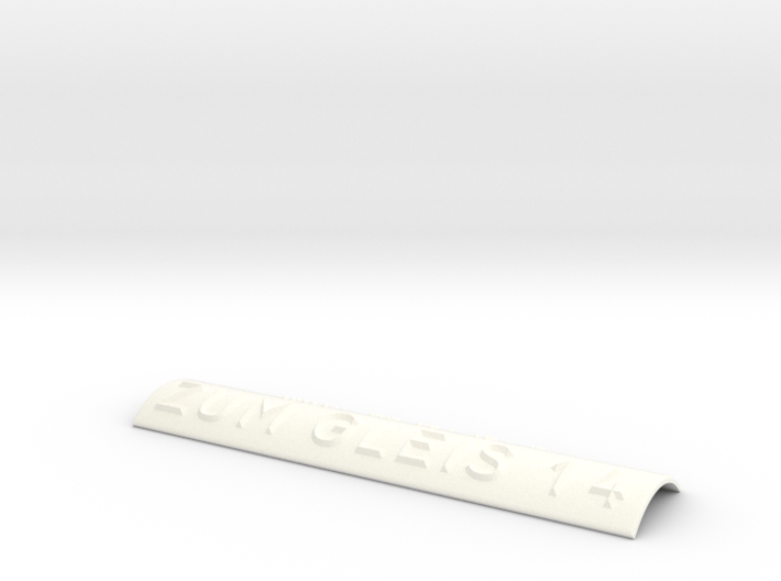 ZUM GLEIS 14 3d printed