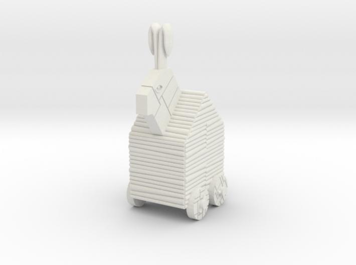 Trojan Rabbit Dice Tower 3d printed