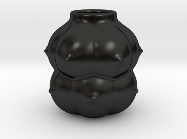 12-breasts shaped calabash v2 3d printed