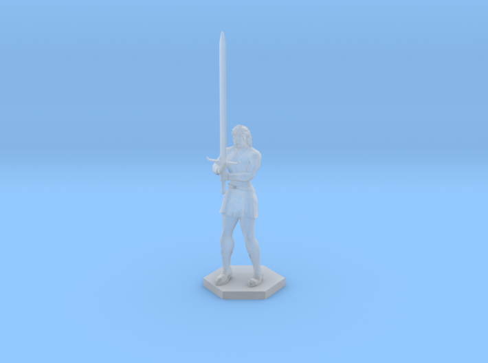 Warrior Elf 3d printed