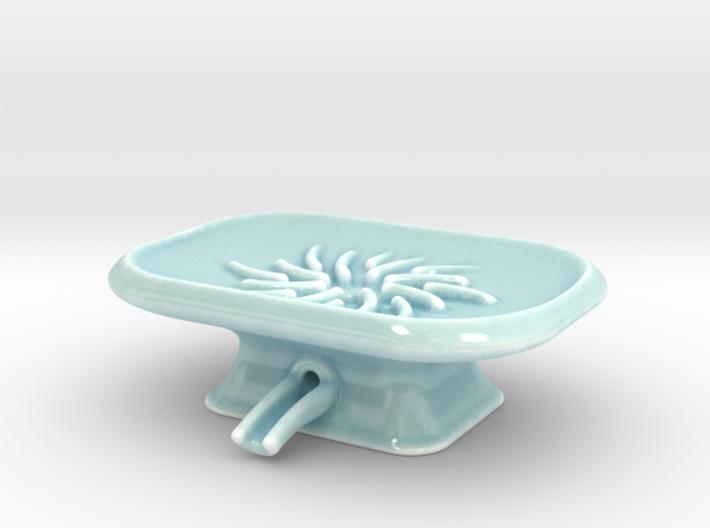 Pedestal Soap Dish 3d printed