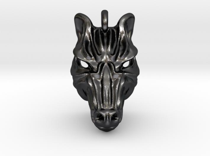 Zebra Pendant 3d printed