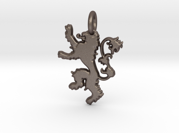 Lannister Sigil Keychain 3d printed