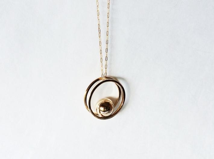 Balance Pendant - Minimalist Necklace 3d printed Minimalist Pendant