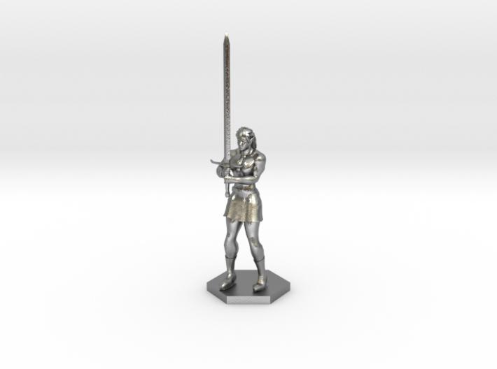 Warrior Elf 3d printed