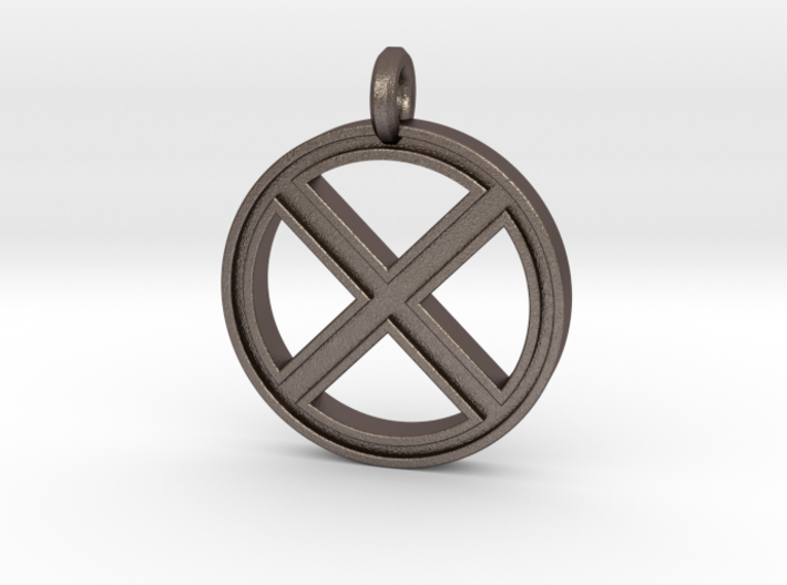 X-Men Keychain 3d printed