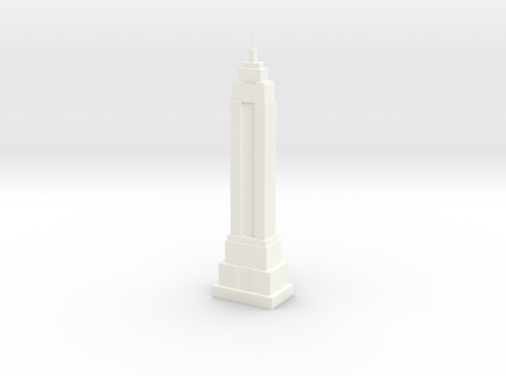 Empire State Building Model (1/2000) 3d printed