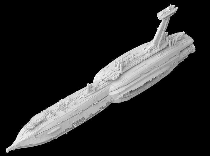 """Providence Destroyer """"Invisible Hand"""" (1/7000) 3d printed"""