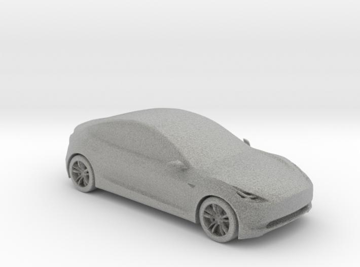 Tesla Model 3 3d printed