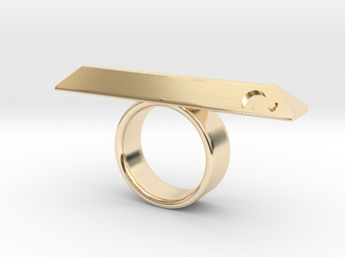 BOHOCK RING Eclectiqueatelier 3d printed