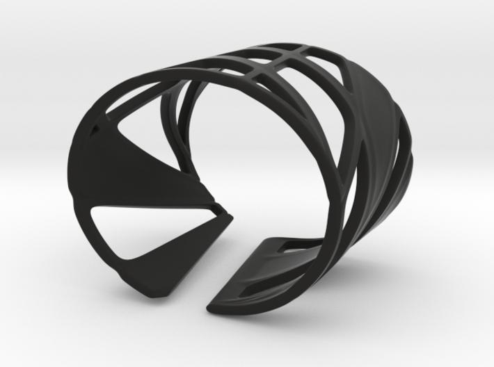 Trouble Bracelet (Size S) 3d printed