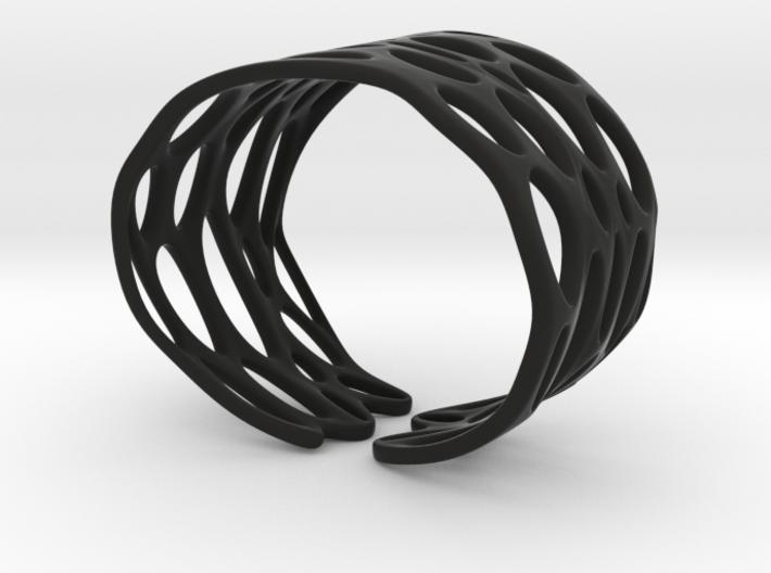 Seaweed Bracelet (Size M) 3d printed
