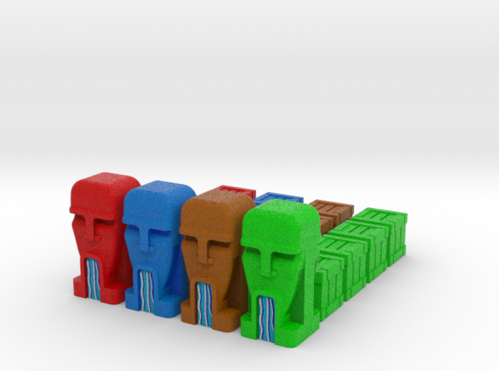 Artifacts Inc. All Markers - Full colour (20 pcs) 3d printed