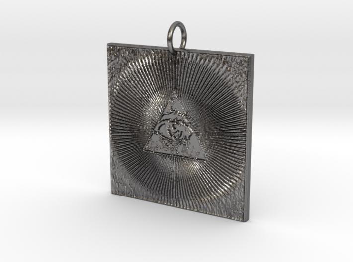 Omni Pendant 3d printed
