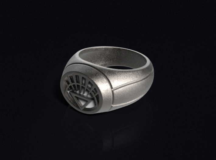 White Lantern Ring 3d printed 3D render of the ring. Does not come with enamel paint applied.