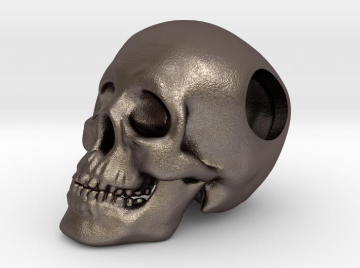 Human Skull Bead - small 3d printed