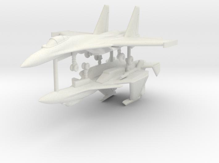 1/350 Sukhoi Su-33 Flanker-D (x2) 3d printed