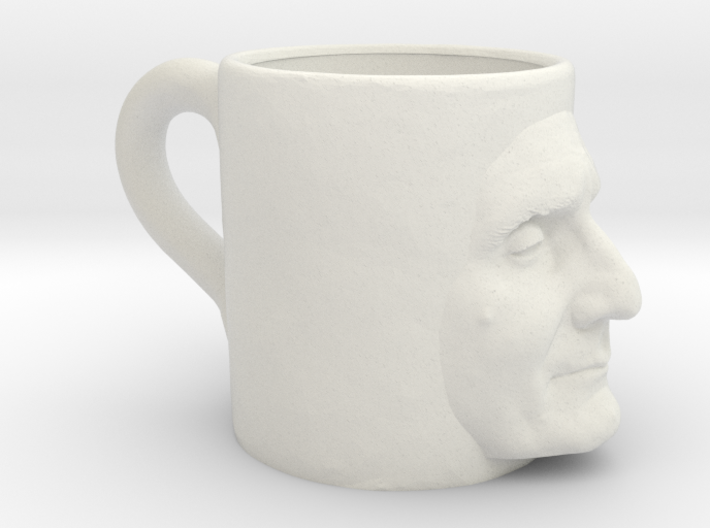 The Ugly Mug 3d printed