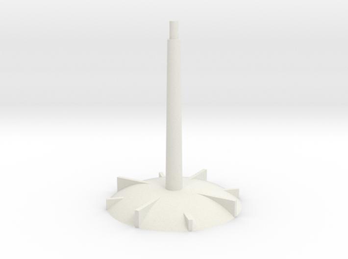 Base - long stem 3d printed