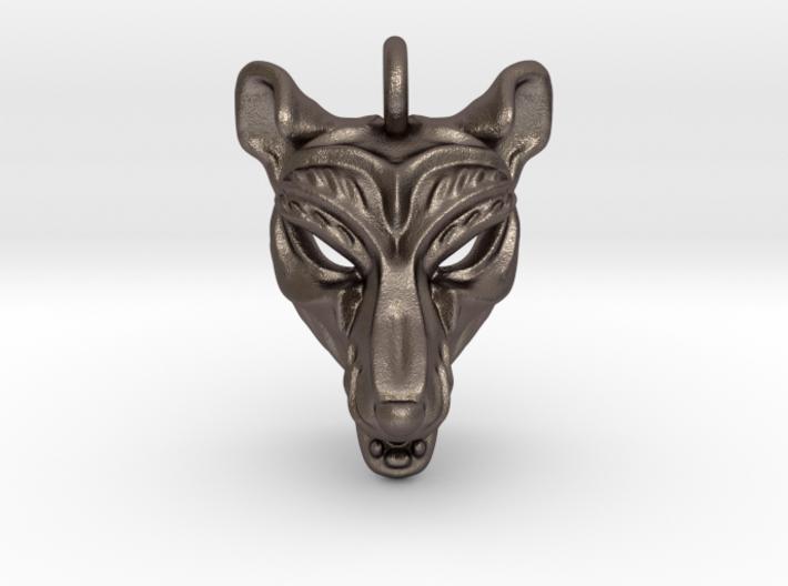 Thylacine (tasmanian tiger) Small Pendant 3d printed