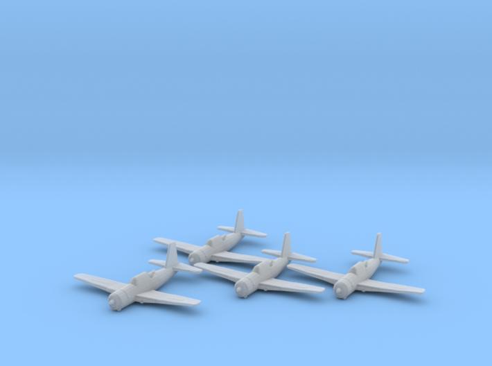 Vultee A-35 'Vengeance' 1:200 x4 FUD 3d printed