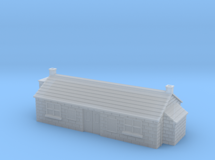 (1:450) GWR Station 3d printed