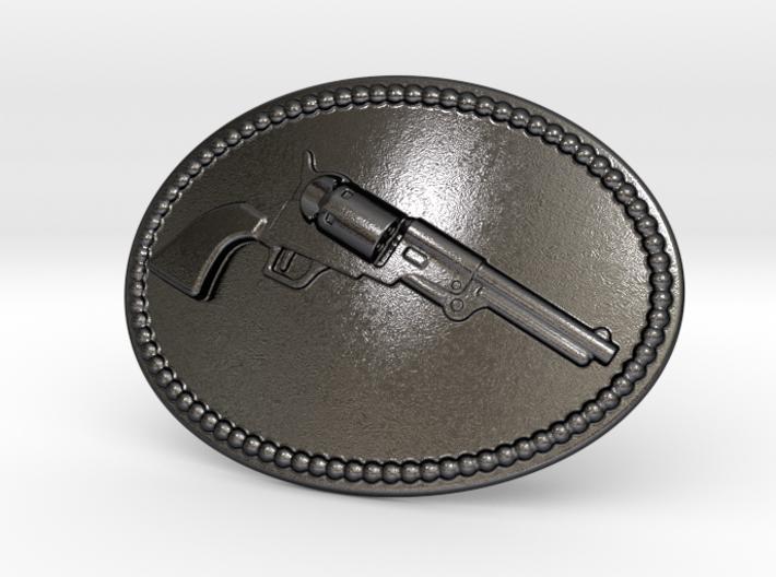 Colt Dragoon Belt Buckle 3d printed