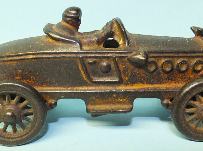 1930 Bix Racer 3d printed 1930's Bix Cast Iron Toy
