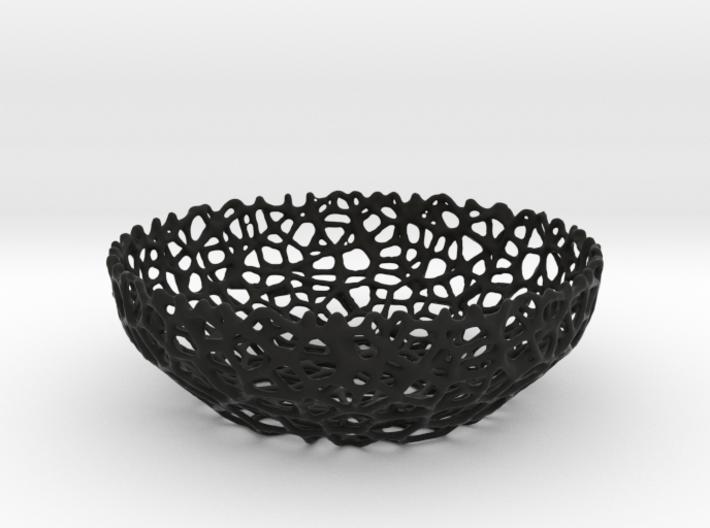 Voronoi bowl (15 cm) - Style #8 3d printed
