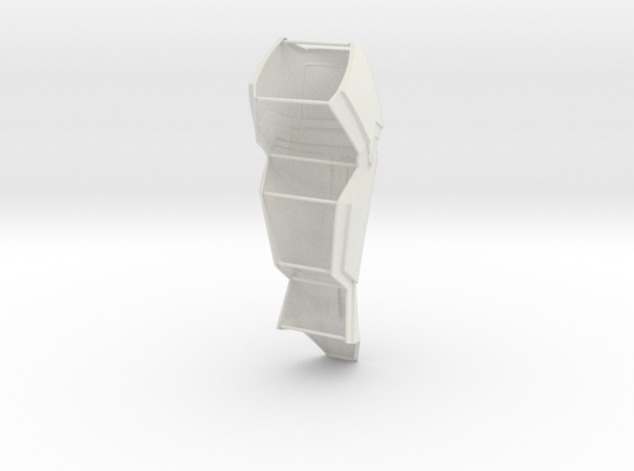 Calf Back With Support 3d printed