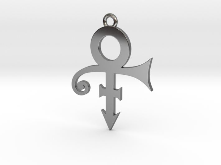 Prince Symbol 40mm V2 3d printed