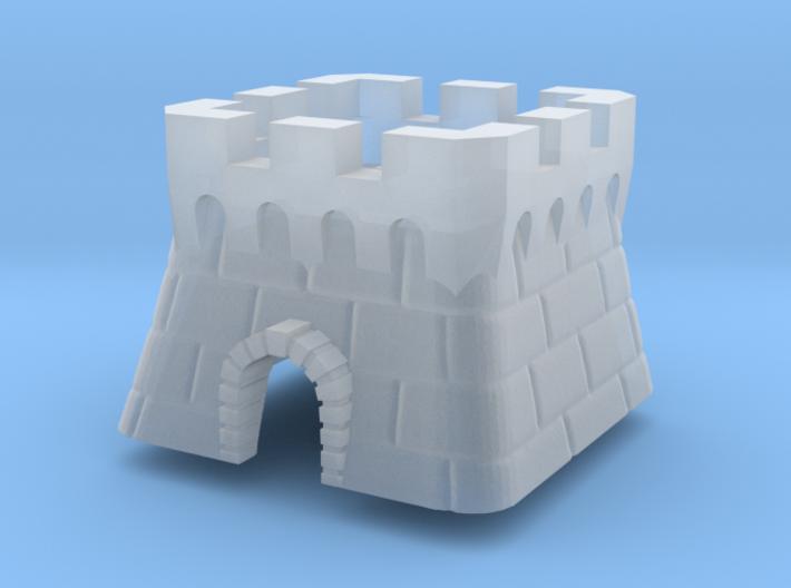 Topre Castle Keycap 3d printed