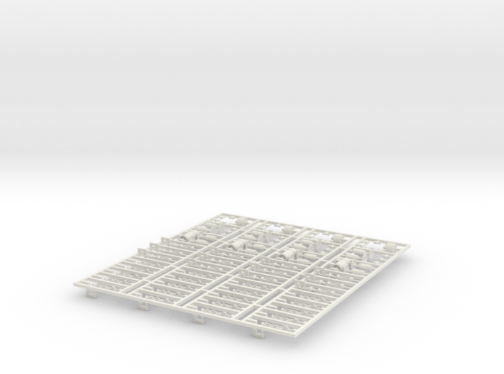 4x Detaljer M1 (1X) V4 0 (repaired) 3d printed