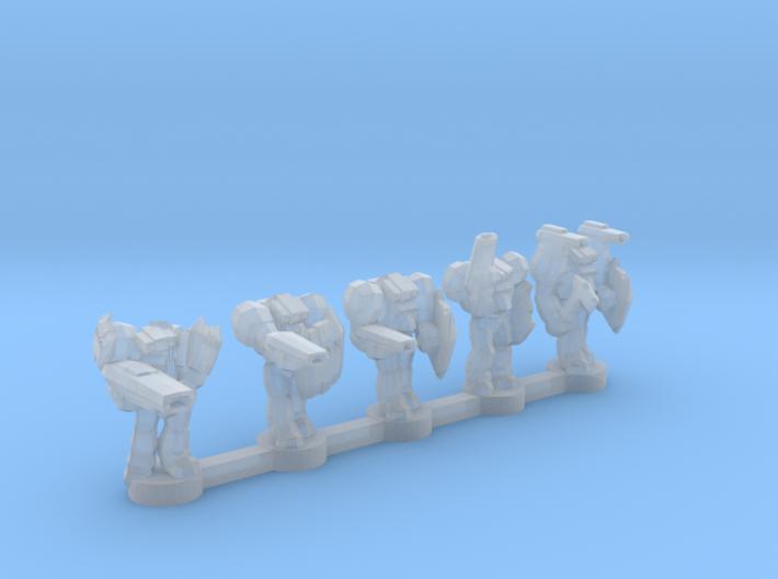 UWN Enforcers 3d printed