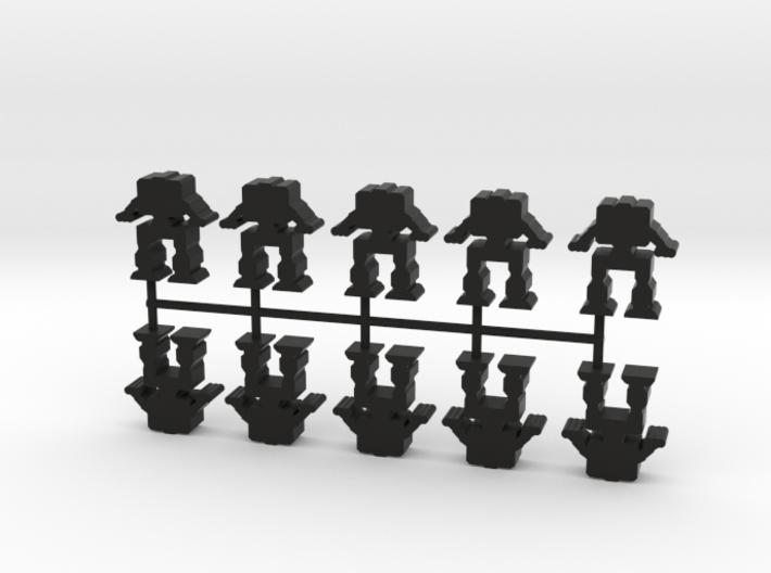 Game Piece, Heavy Advanced Artillery Mech, 10-set 3d printed