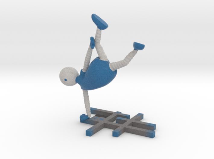 Cartwheeling - 1003N 3d printed