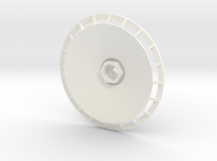 BBS Wheel Cover/Fan 3d printed