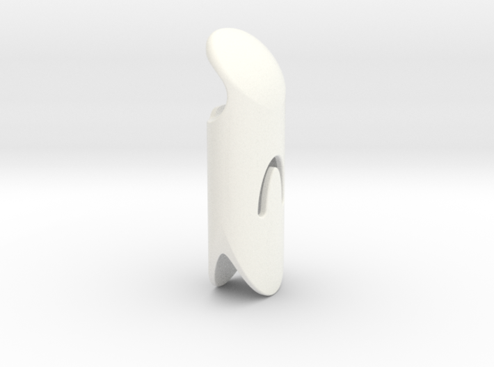 "Bic case - Bottle opener - ""beluga"" 3d printed"