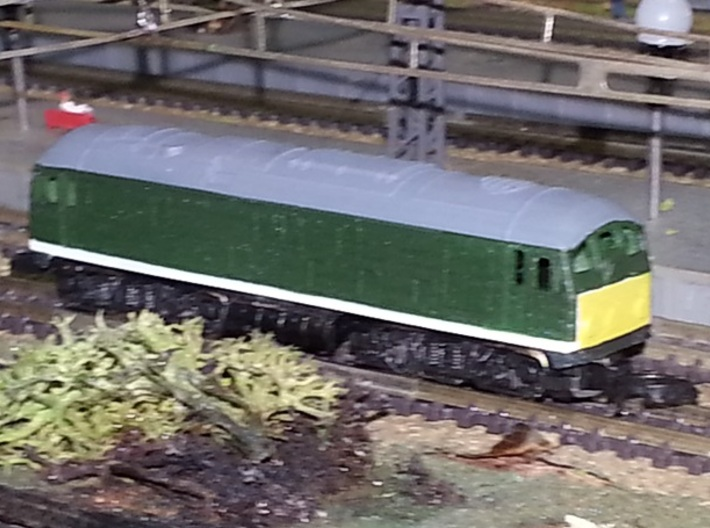 BR Class 24 - Z - 1:450 3d printed