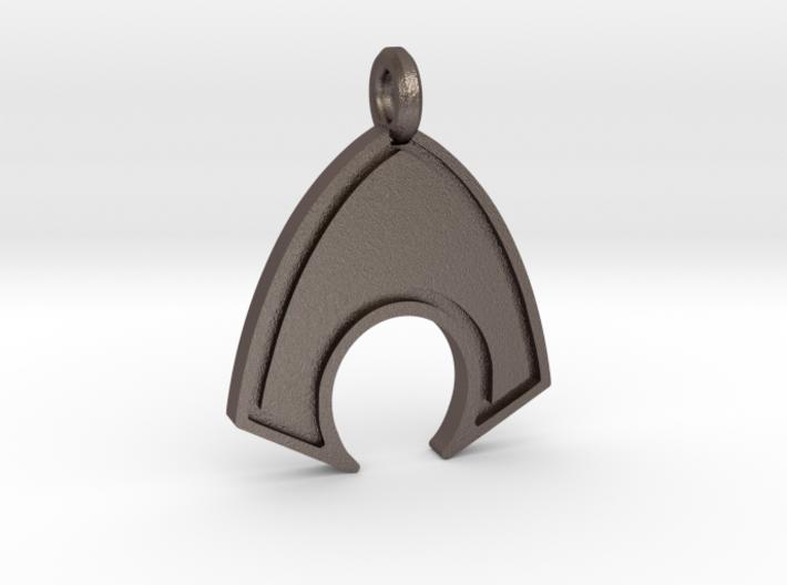 Aquaman Keychain 3d printed