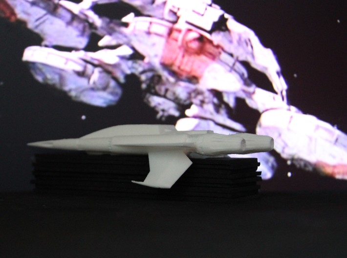Quad Fighter (Buck Rogers), 1/72 3d printed