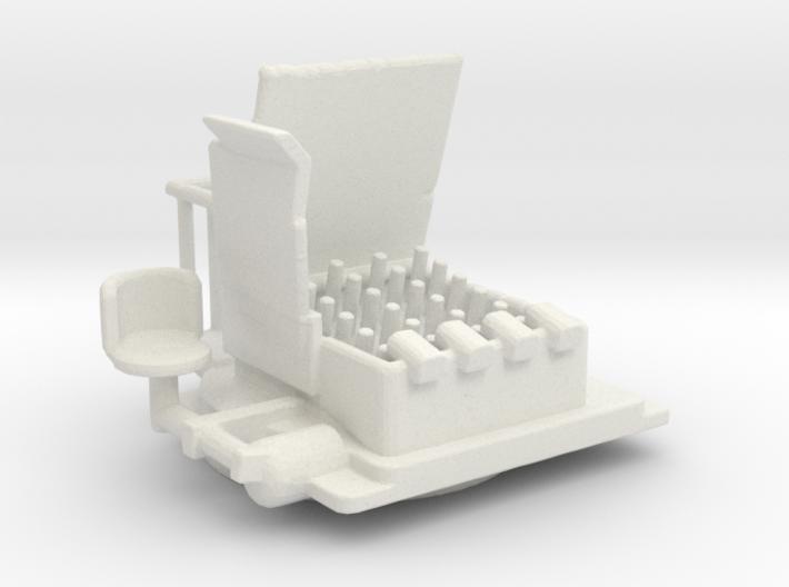 HedgeHog Mk 14 Mod 1/144 3d printed