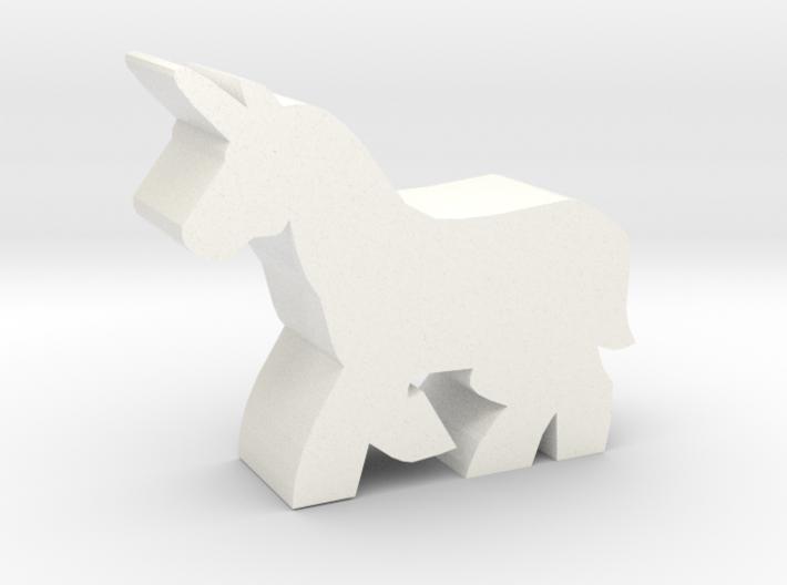 Game Piece, Unicorn 3d printed