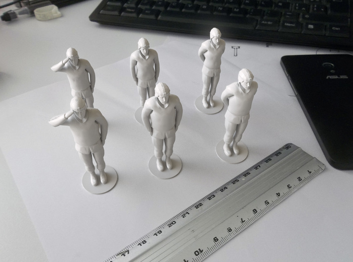Male Soldier Standing 3d printed