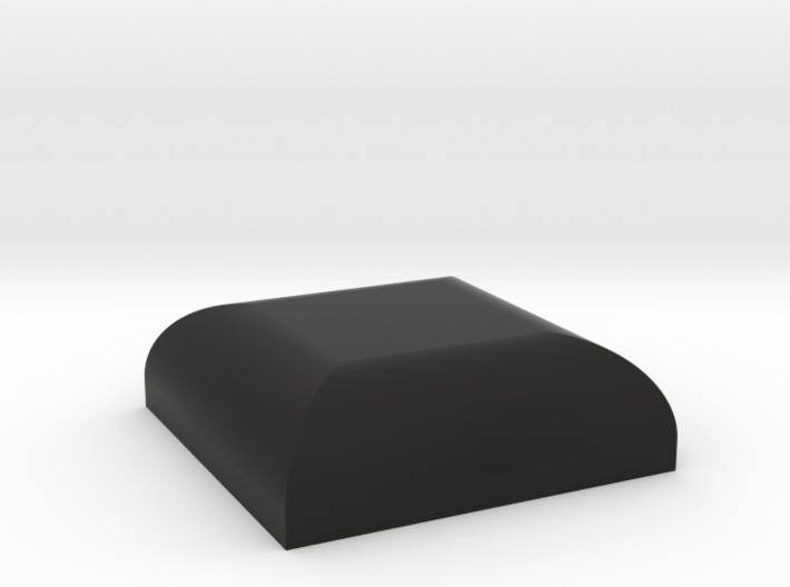 "ROTJ Greeblies - Black ""rubber"" foot 3d printed"