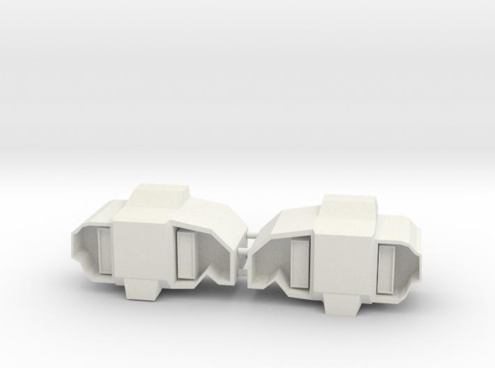 Cabal Goliath Side Packs (Large) 3d printed