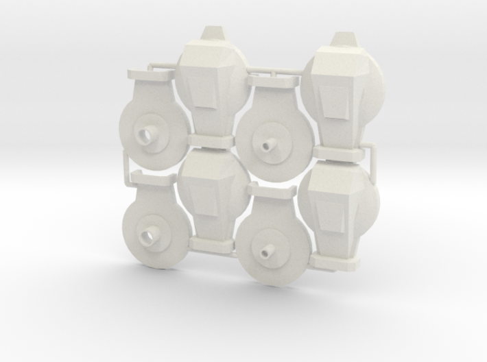 Cabal Goliath Thrusters (Large) 3d printed