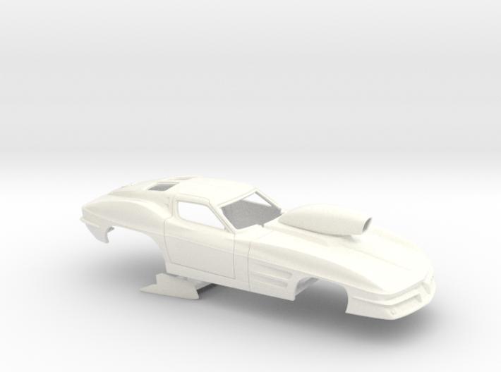 1/32 1963 Pro Mod Corvette 3d printed