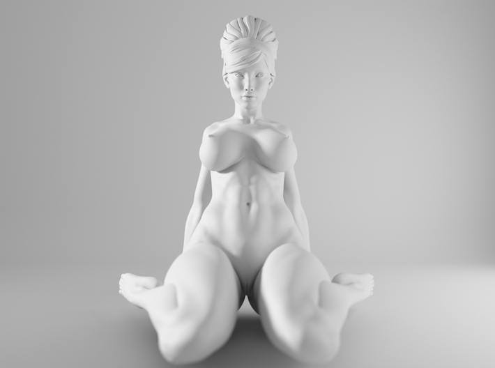 1/10 Sexy Girl Sitting 006 3d printed